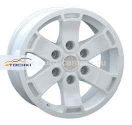 Диск Replay 7x16 6x139,7 ET10 D93,1 FD39 White (Ford)