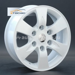 Диск Replay 7x16 6x139,7 ET38 D67,1 Mi33 White (Mitsubishi)