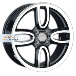 Диск Replay 7x17 4x100 ET48 D56,1 MN1 BKF (Mini Cooper)