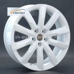 Диск Replay 8x19 5x112 ET39 D66,6 A42 White (Audi)