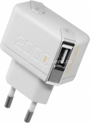 Сетевое зарядное устройство для iPhone, iPad и iPod Unplug Travel Charger Dual USB 2A с кабелем Lightning to USB (TC2000M5IPH)