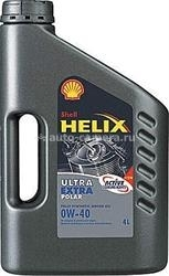 Масло Shell 0W-40 Helix Ultra Polar Extra, 4л