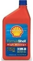 Масло Shell 10W-30 Formula High Mileage Formula Motor Oil 021400570375, 0.946л