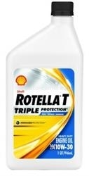 Масло Shell 10W-30 Rotella T Triple Protection 021400560703, 0.946л