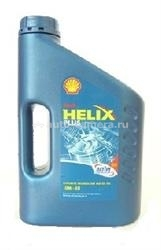 Масло Shell 10W-40 Helix Plus, 1л