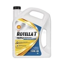 Масло Shell 15W-40 Rotella T Triple Protection 021400560208, 3.785л