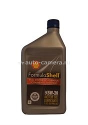 Масло Shell 5W-20 Formula Full Synthetic Motor Oil 021400577602, 0.946л