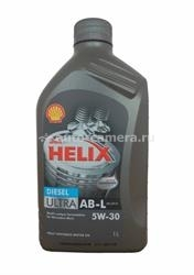 Масло Shell 5W-30 Helix Diesel Ultra AB-L D 5011987142053, 1л