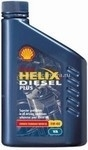 Масло Shell 5W-40 Helix Diesel Plus, 1л