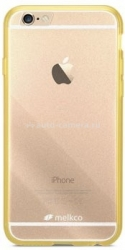 Силиконовый чехол для iPhone 6 Melkco PolyUltima, цвет Transparent Yellow (APIP6FTBPU1YWTS)