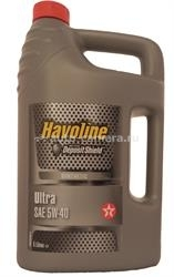 Масло Texaco 5W-40 HAVOLINE ULTRA 5011267832650, 5л