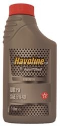 Масло Texaco 5W-40 HAVOLINE ULTRA 5011267832841, 1л