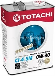 Масло Totachi 0W-30 Premium Economy Diesel Fully Synthetic CJ-4/SM 4562374690790, 4л