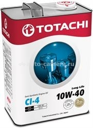 Масло Totachi 10W-40 Long Life 4562374690578, 4л