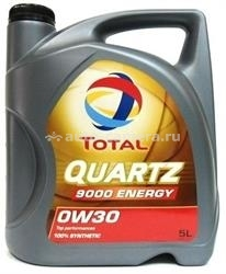 Масло Total 0W-30 QUARTZ 9000 ENERGY 151522, 5л