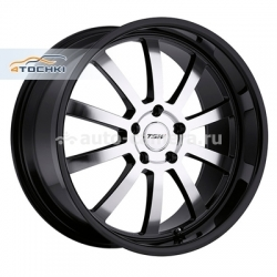 Диск TSW 8x17 5x114,3 ET40 D76 Willow Gloss Black