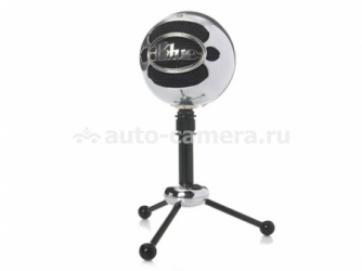 USB-микрофон для Mac и PC Blue Microphones Snowball, цвет Brushed Aluminum (SNOWBALL BRUSHED ALUMINIUM USB)