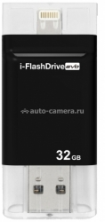 Внешний накопитель для iPhone, iPad, PC/Mac PhotoFast i-FlashDrive EVO 32 GB, цвет Black