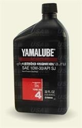 Масло Yamaha 10W-30 4-Stroke Engine Oil ACC-Y4010-30-12, 1л