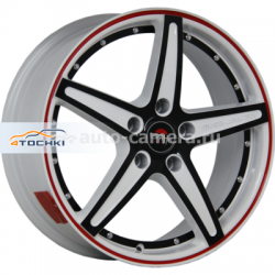 Диск Yokatta 6,5x16 5x112 ET33 D57,1 MODEL-11 W+B+RS+BSI