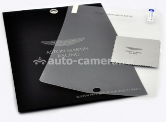 Защитная пленка для iPad 3 и iPad 4 Aston Martin Screen Protector (SGIPA23001C)