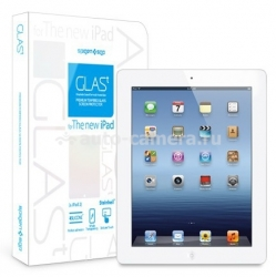 "Защитная пленка для iPad 3 и iPad 4 SGP Oleophobic Coated Tempered Glass ""Glas T"" (SGP08863)"