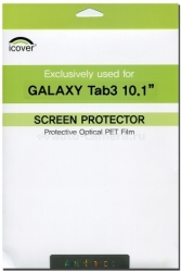 Защитная пленка для Samsung Galaxy Tab3 10.1 iCover Screen Protector Anti-shock (GT3/10-AS/SP-HC)