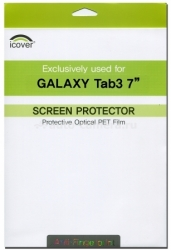 Защитная пленка для Samsung Galaxy Tab3 7.0 iCover Screen Protector Anti Finger (GT3/7-SP-AF)