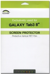 Защитная пленка для Samsung Galaxy Tab3 8.0 iCover Screen Protector Anti Finger (GT3/8-SP-AF)