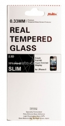Защитное стекло для iPhone 5 / 5C / 5S Mokin Real Tempered Glass 0.33 mm 2.5D, цвет Transparent