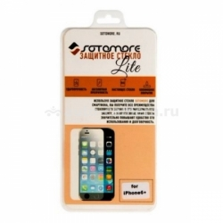 Защитное стекло для iPhone 6 Plus SOTOMORE LITE Real Tempered Glass