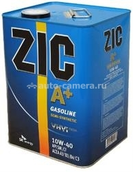 Масло ZIC 10W-40 A Plus 173393, 6л